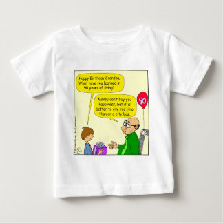 572 money cant buy you happiness cartoon baby T-Shirt