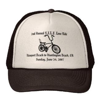57852bike, 2nd Annual S.I.L.F. Love RideNewport... Trucker Hat