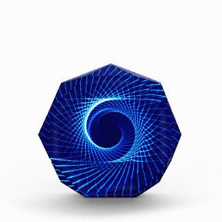 578627 BLUE SPIRAL SWIRL DIGITAL ART BACKGROUND PA AWARD