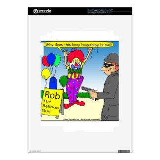 579 rob the clown cartoon iPad 2 decals