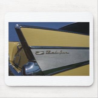 57' aleta del Bel Air de Chevy horizontal Mousepad