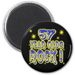 ¡57 años de la roca! Imán (del azul)