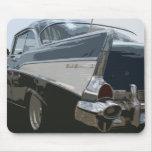 57 Bel Air de Chevy Alfombrillas De Raton