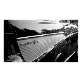 57 Bel Air de Chevy Tarjetas De Visita
