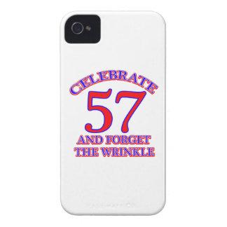 57 Birthday Design iPhone 4 Case-Mate Case