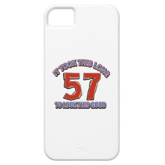 57 birthday design iPhone SE/5/5s case