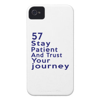 57 Birthday Designs iPhone 4 Case