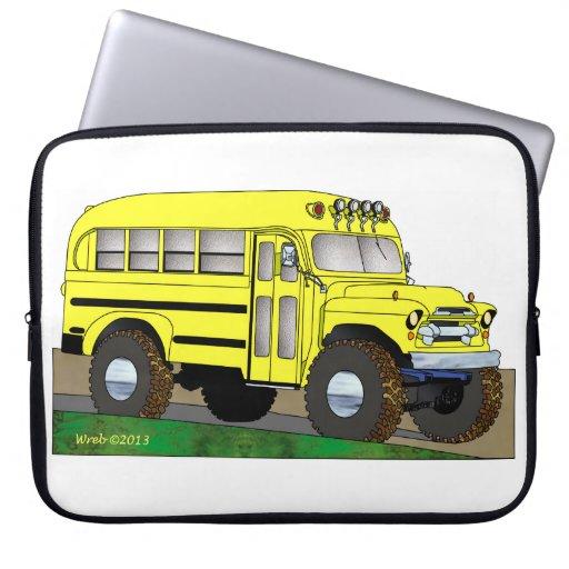 57 Chevrolet del autobús escolar del camino 4X4 Manga Portátil