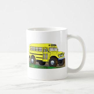 57 Chevrolet del autobús escolar del camino 4X4 Taza Básica Blanca