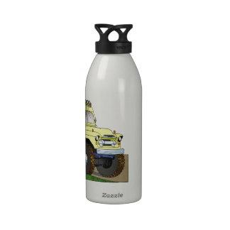 57 Chevrolet Off Road 4X4 School Bus Water Bottles