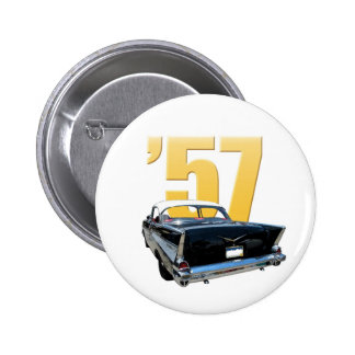 '57 Chevy Bel Aire Rear View Pin
