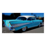 '57 CHEVY BELAIR POSTER