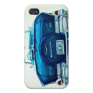 57 Chevy Belaire iPhone 4/4S Cases