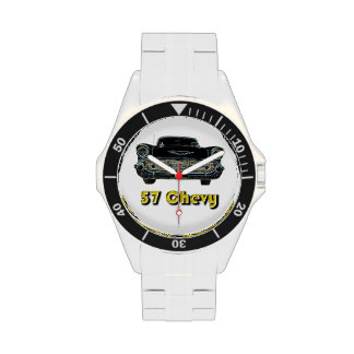 57 Chevy Classic Stainless Steel Watch