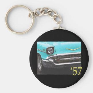 57 Chevy Llavero Redondo Tipo Pin