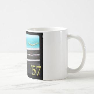 57 Chevy Classic White Coffee Mug