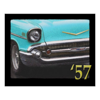 57 Chevy Posters