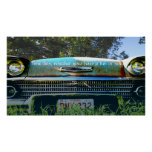 '57 Chevy - The good old days Print