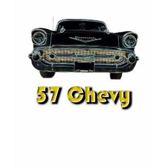 '57 Chevy Womens T-Shirt shirt