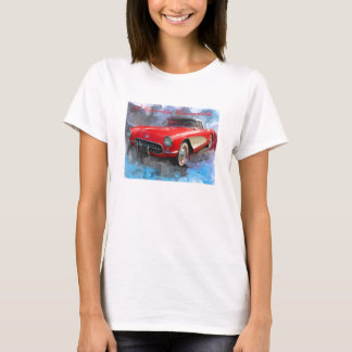 57' Corvette Convertible T-Shirt