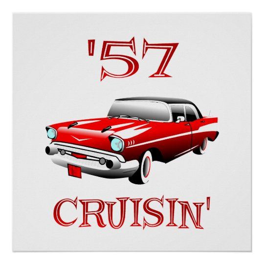 57 Crusin Poster