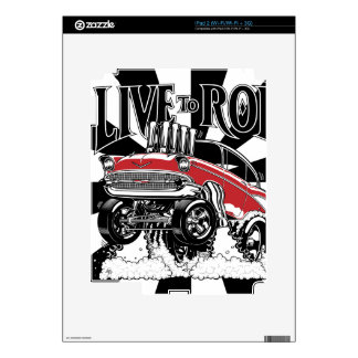 57 Gasser Electronics Decals For iPad 2