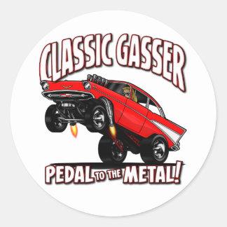 57 GASSER Flair Classic Round Sticker