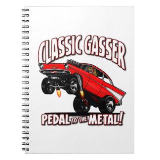 57' Gasser Home Office Spiral Notebook