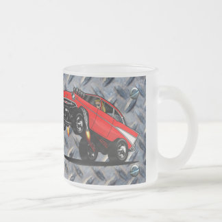 57' Gasser Housewares Frosted Glass Coffee Mug