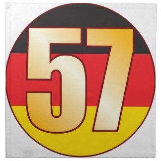 57 GERMANY Gold Cloth Napkin