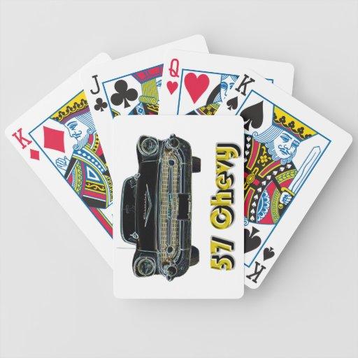 57 naipes de Chevy Baraja Cartas De Poker