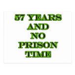 57 ninguna hora de prisión postal