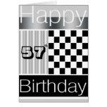 57.o Cumpleaños Felicitaciones