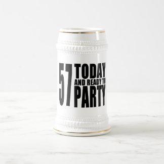 57.o Fiestas de cumpleaños: 57 hoy y aliste para Jarra De Cerveza