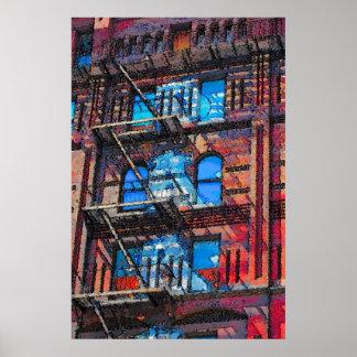 """57.o y 9no edificio de Windermere"""" de la cocina de Posters"""