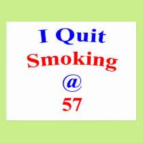 57 Quit Smoking Postcard