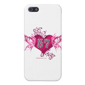57 racing numbers butterflies iPhone SE/5/5s case