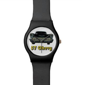57 reloj negro de Chevy May28th