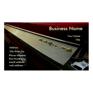 '57 Wedge Business Card