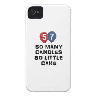 57 year old candle designs iPhone 4 cover