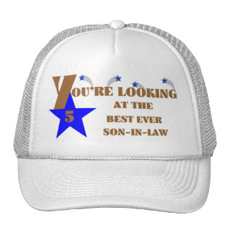 57Best Ever 5-Star Son-in-law Hat