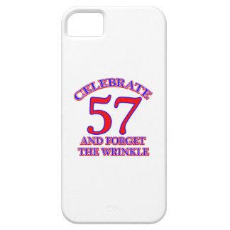 57Birthday Design iPhone SE/5/5s Case