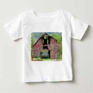 57Chevy Barn Yard Memories Baby T-Shirt