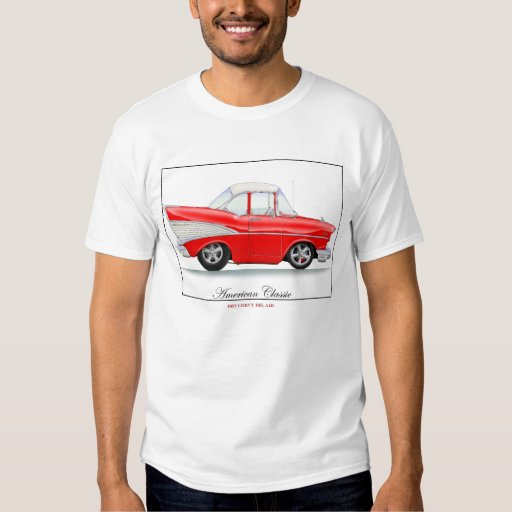 57Chevy red tee