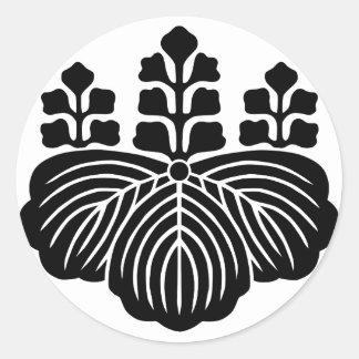 57kiri classic round sticker