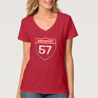 57th Anniversary T Shirt