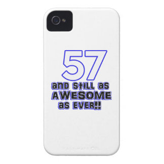 57th birthday design iPhone 4 cover