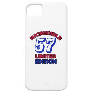 57th Birthday Design iPhone SE/5/5s Case