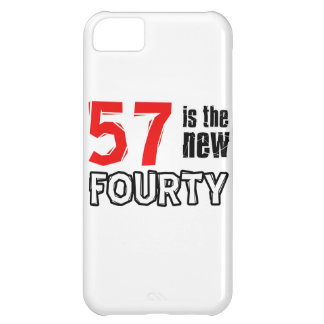 57th birthday designs cover for iPhone 5C