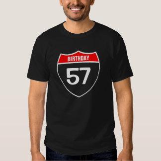 57th Birthday T Shirt